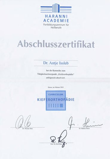 Zertifikat - Dr.-Antje-Issleb-2010-02
